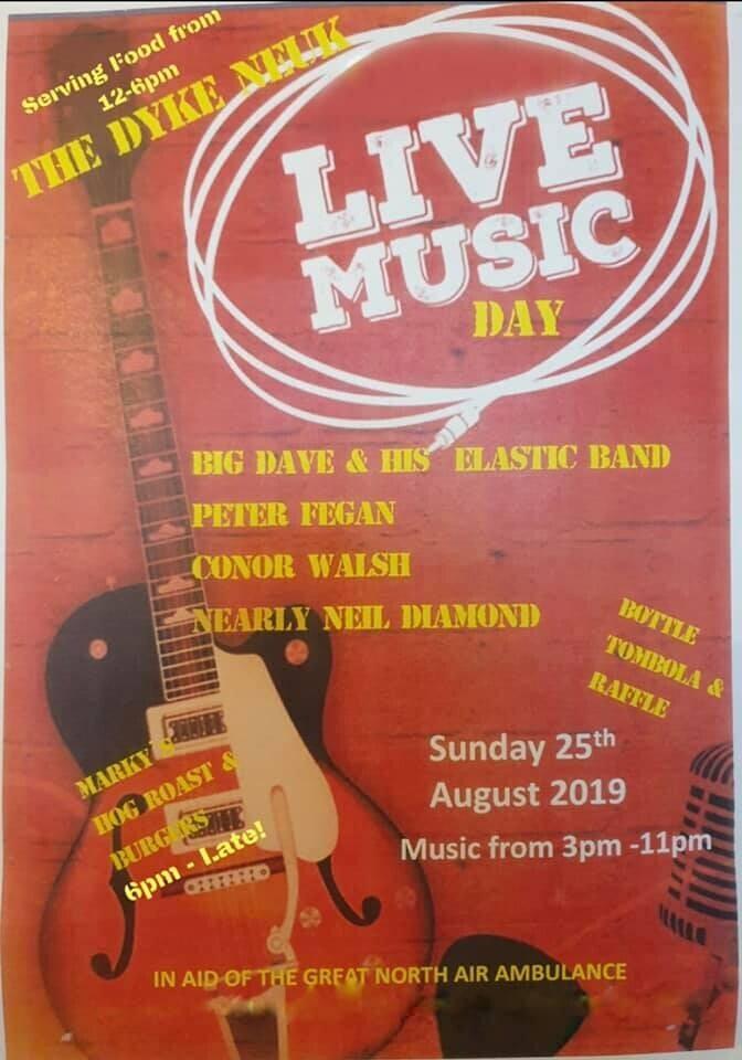 The Dyke Neuk Inn Music Day