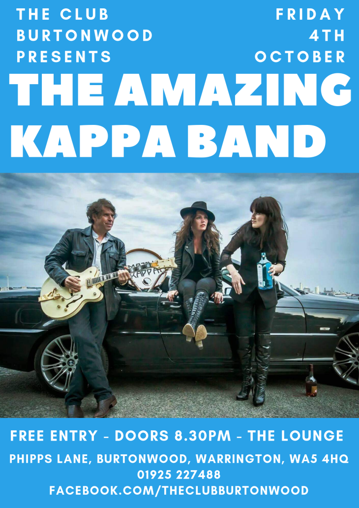 Live In The Lounge: Amazing Kappa Band