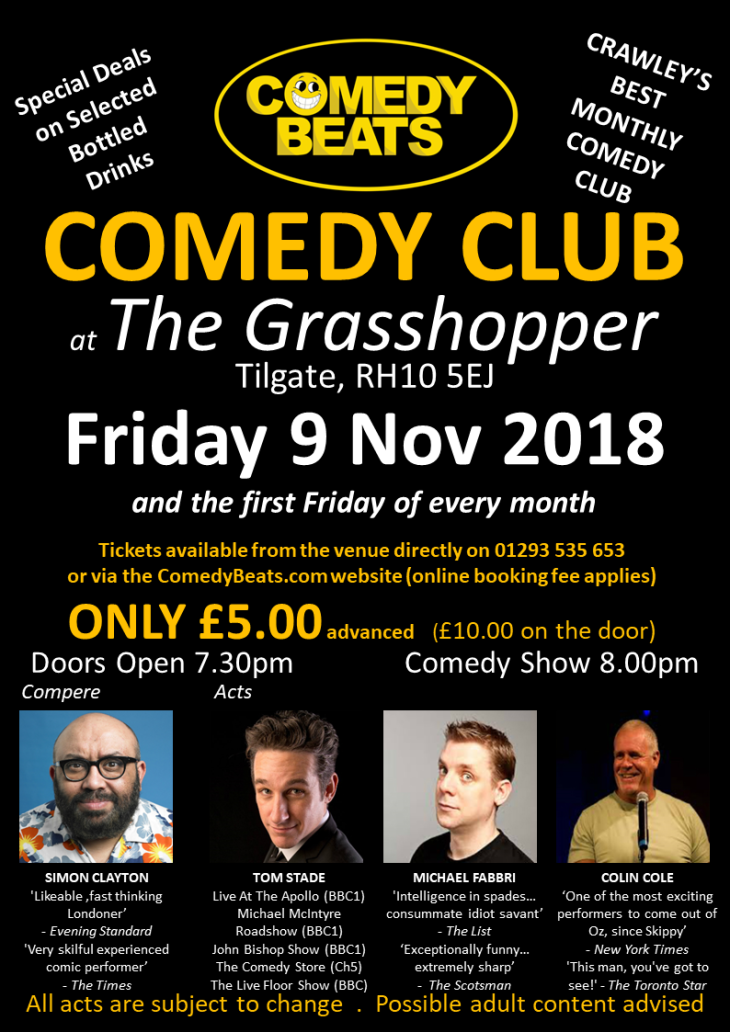 The Grasshopper Comedy Club
