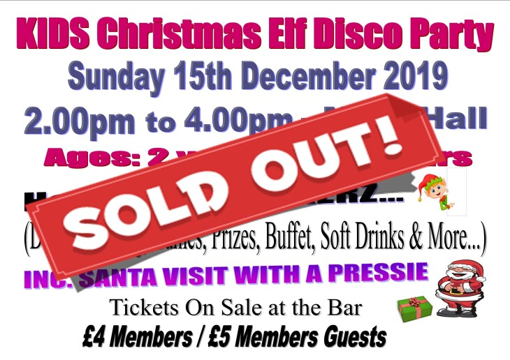 KIDS XMAS Elf Disco Party - SOLD OUT