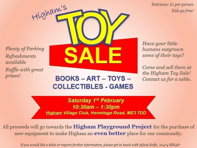 Higham Parish Council - Toy Sale
