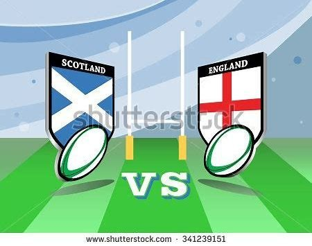 England Vs Scotland.