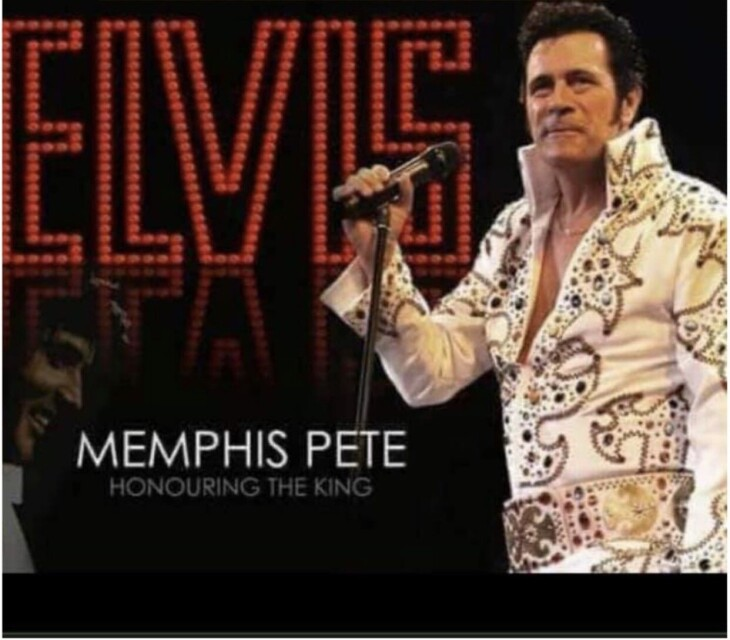 Memphis Pete has Elvis
