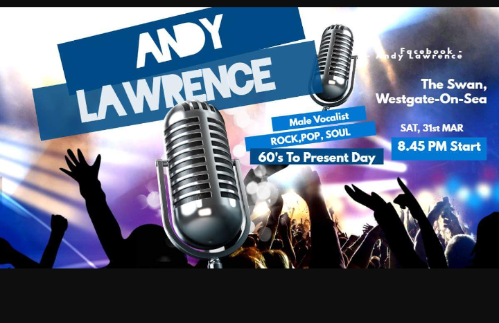 Andy Lawrence-male vocalist LIVE
