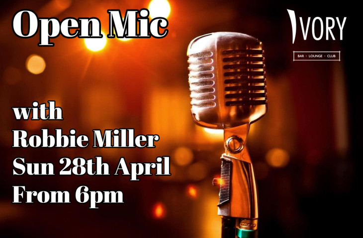OPEN MIC AT IVORY.