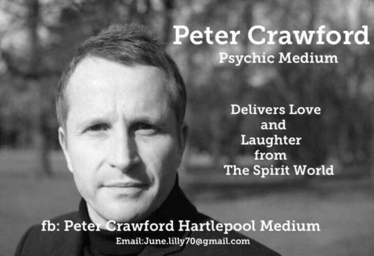 AN EVENING WITH PETER CRAWFORD