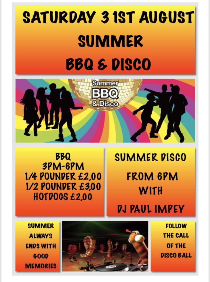 Summer BBQ & Disco