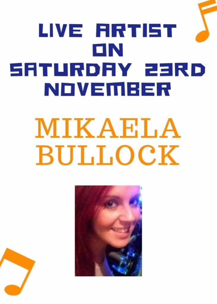 Live Entertainment Mikaela Bullock