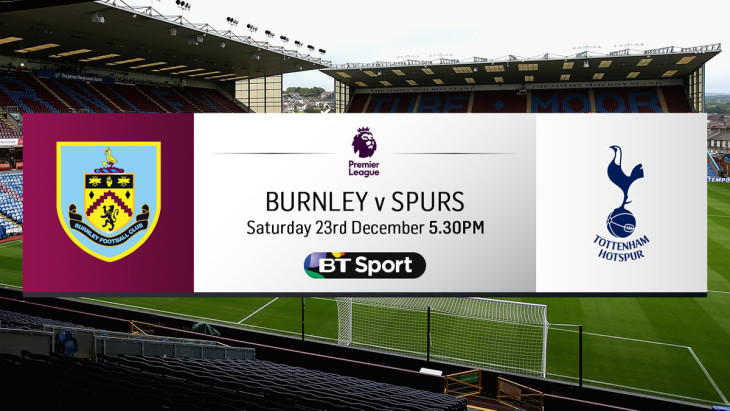 Burnley V Spurs
