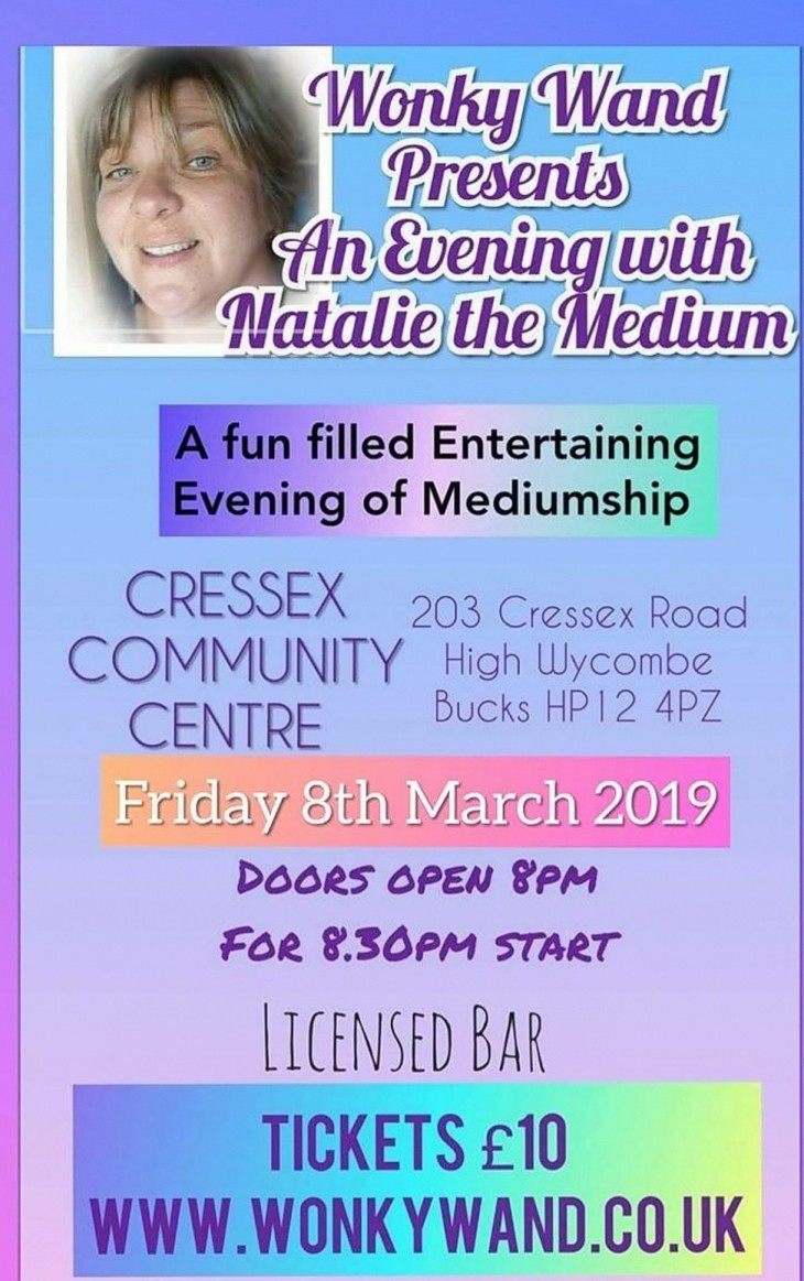 An Evening With Natalie the Medium