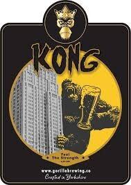 Gorilla 'Kong IPA' 6.0% new local beer