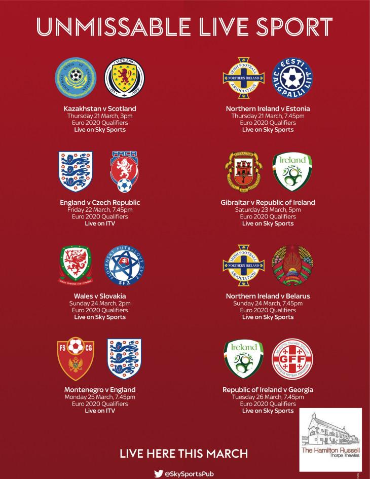 England Games