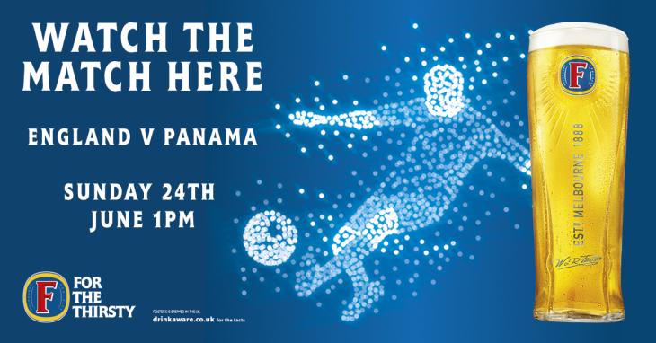 England v Panama