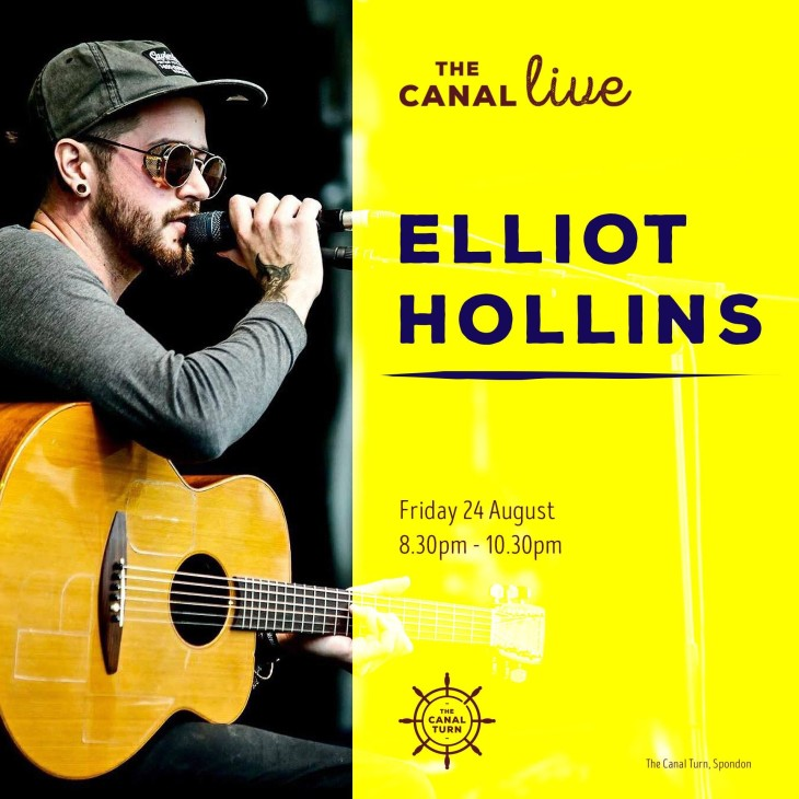 The Canal Live: Elliot Hollins