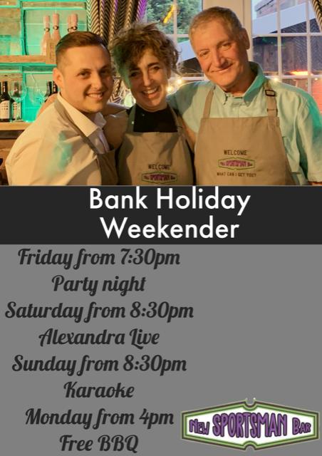 Bank Holiday Weekender