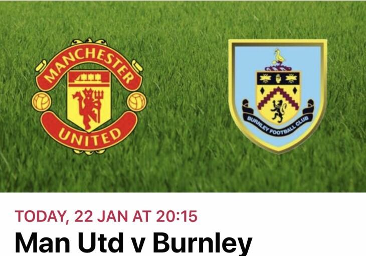 Man Utd v Burnley