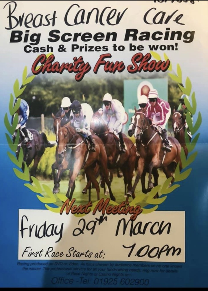 Charity Race Night.