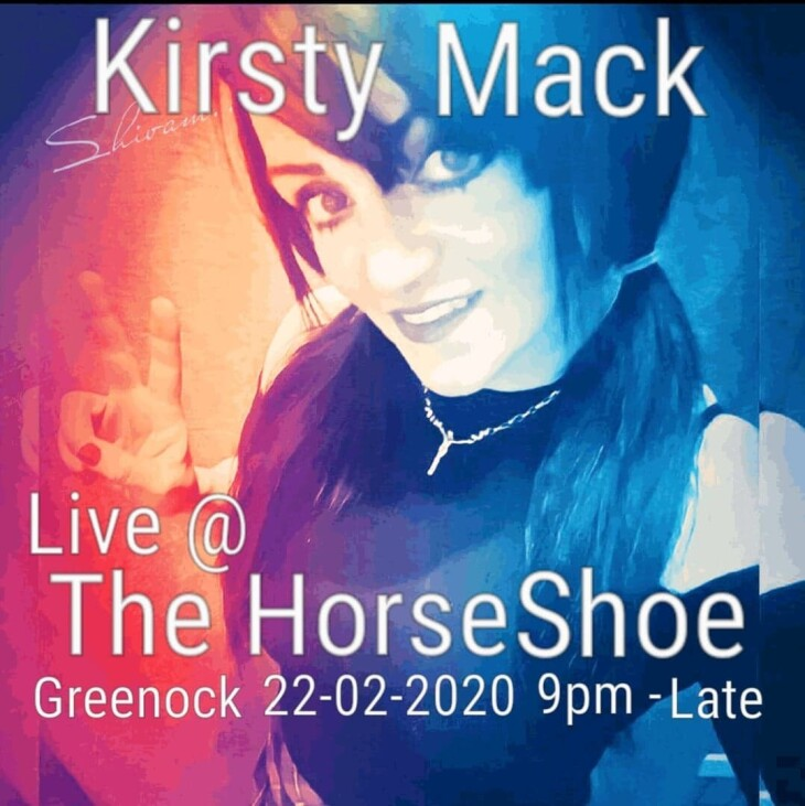 Kirsty Mack 9pm till late