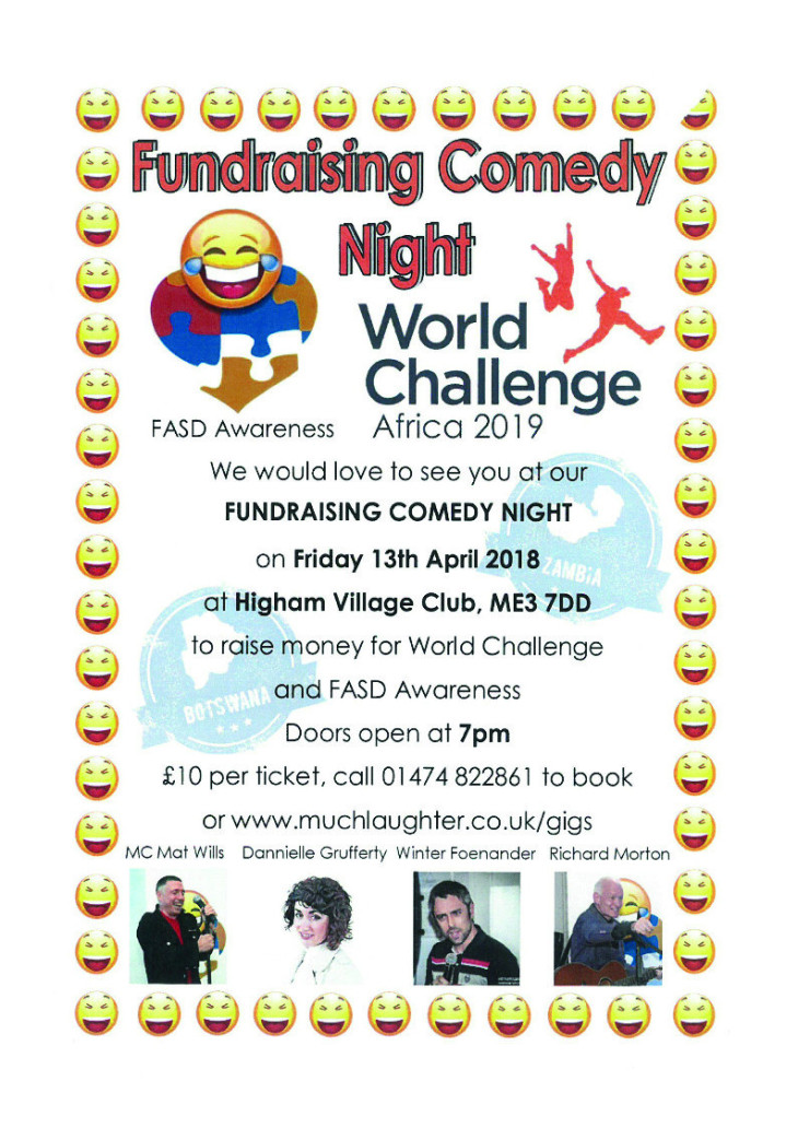 Fundraising Comedy Night