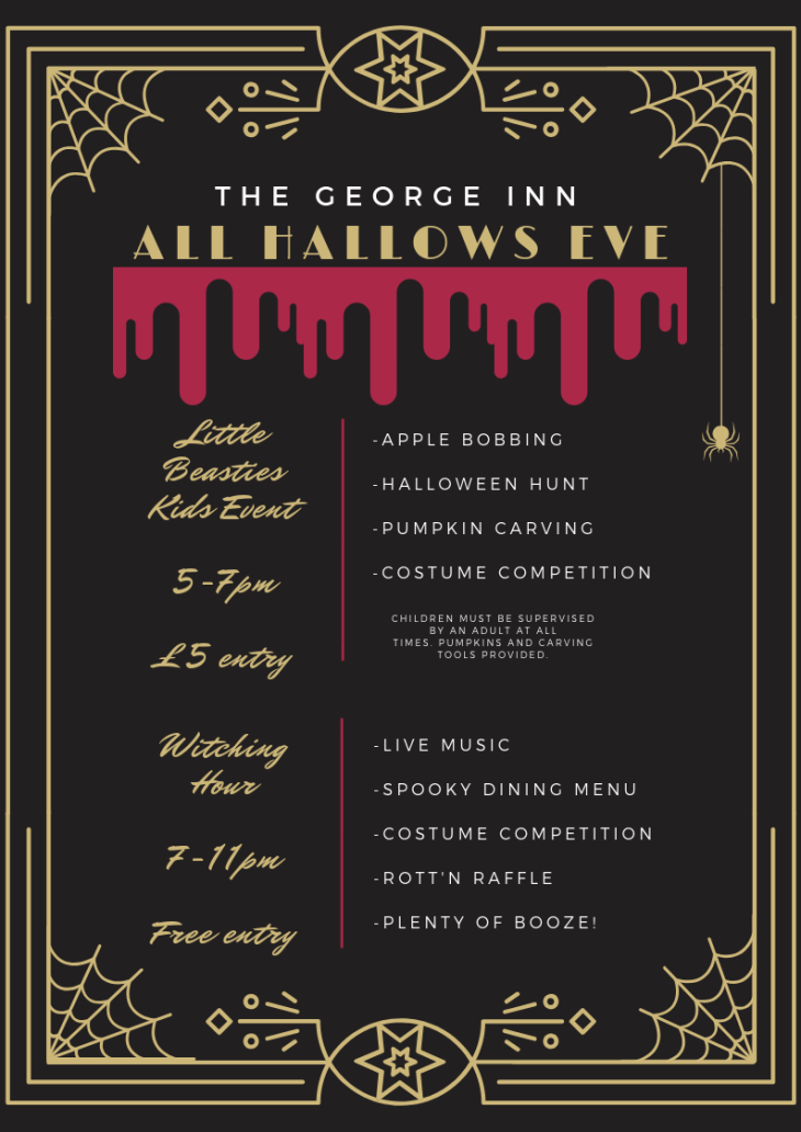 All Hallows Eve at The George