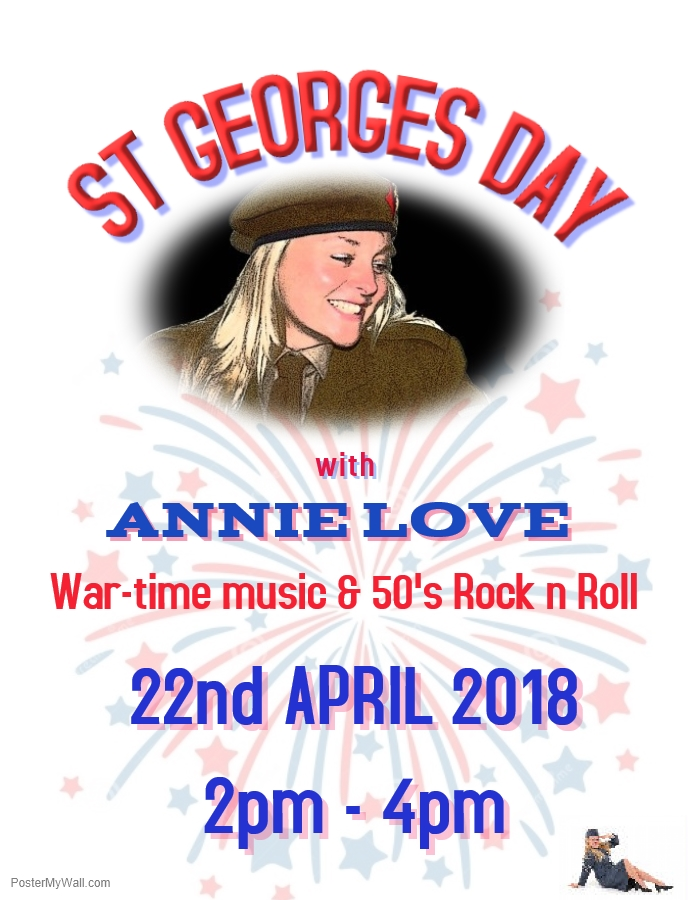 ST GEORGES DAY SPECIAL