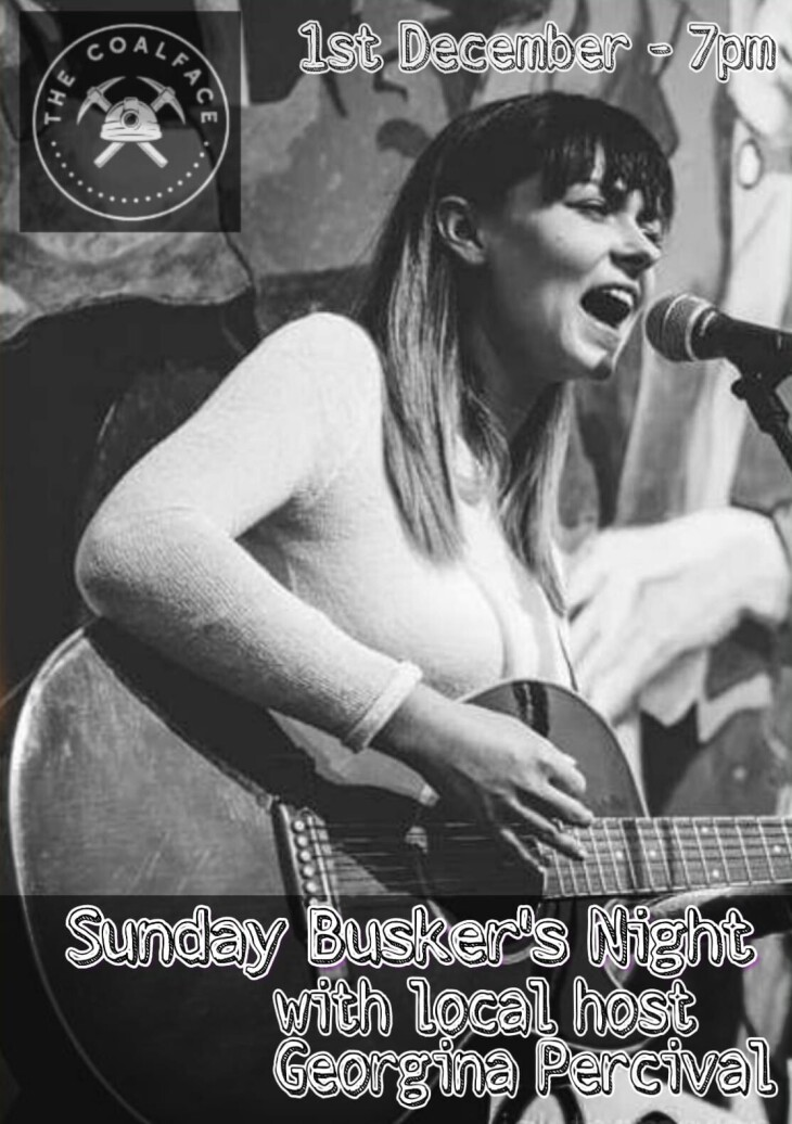 Sunday Busker's Night at The Coalface