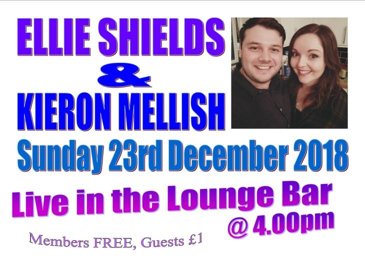 Ellie Shields & Kieron Mellish