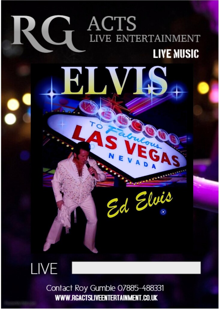 Ed ELVIS is LIVE & IN THE BUILDING