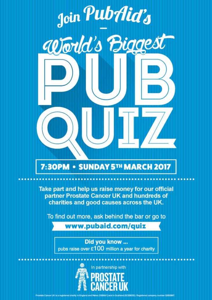 World's Biggest Pub Quiz
