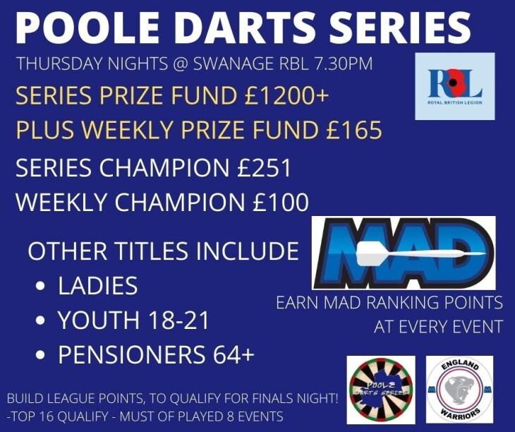 Poole Darts Series 1 -Event 2