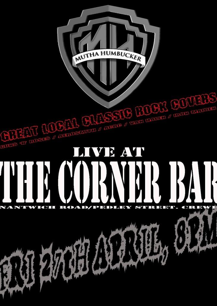 8pm Live Music - Mutha Humbucker
