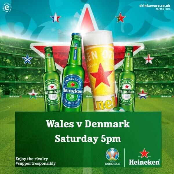Wales v Denmark, UEFA EURO 2020™