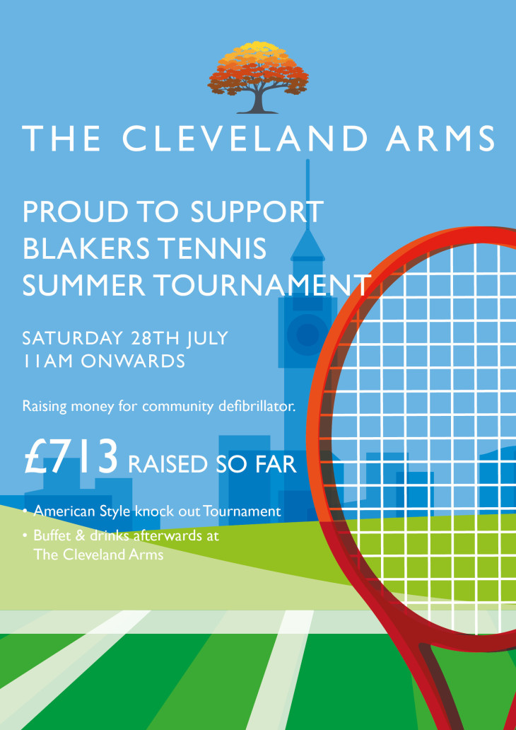 Charity tennis tournament