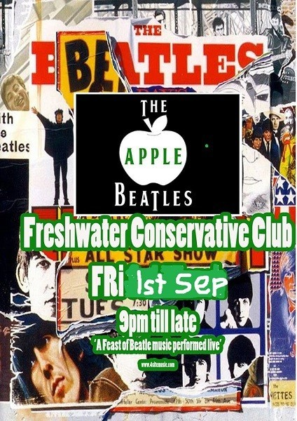 Apple Beatles,  Friday 1st September