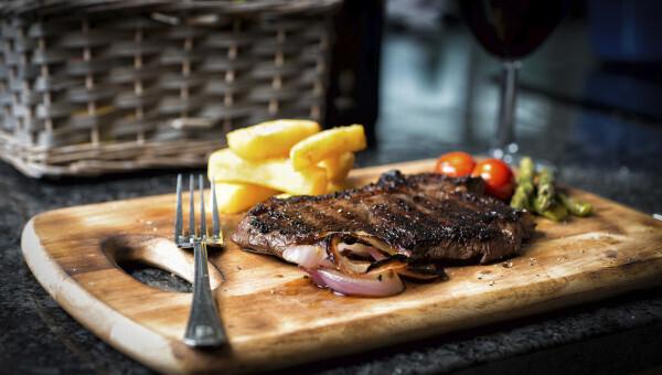 Steak, Wine & Cheese Night