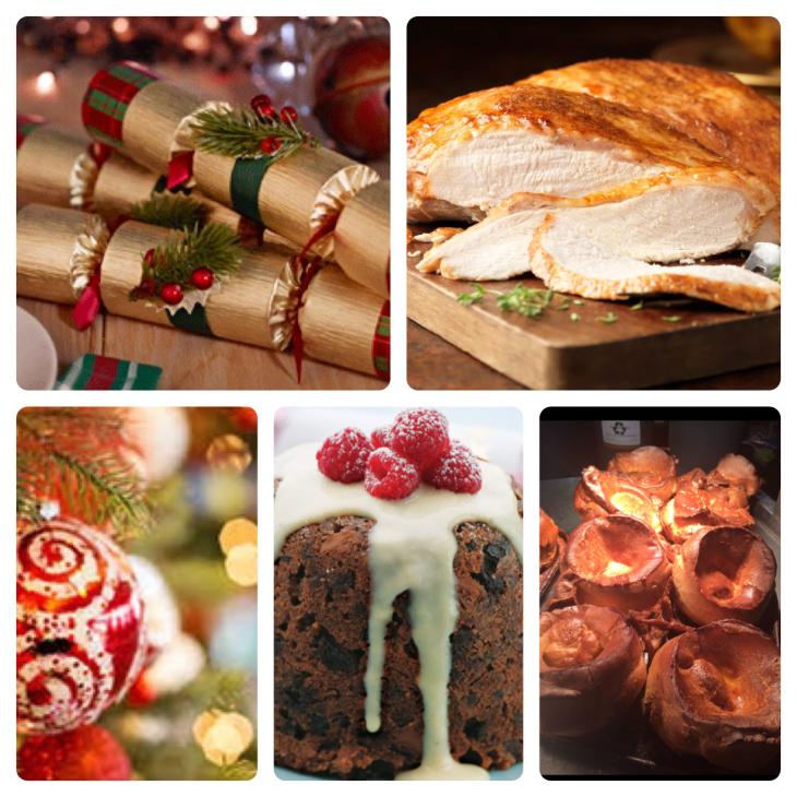 December Festive Menu
