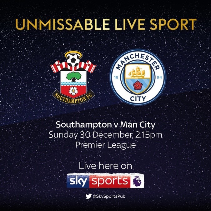Southampton v Man City LIVE