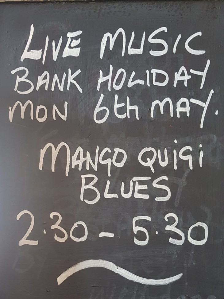 Live Music Monday 6th May