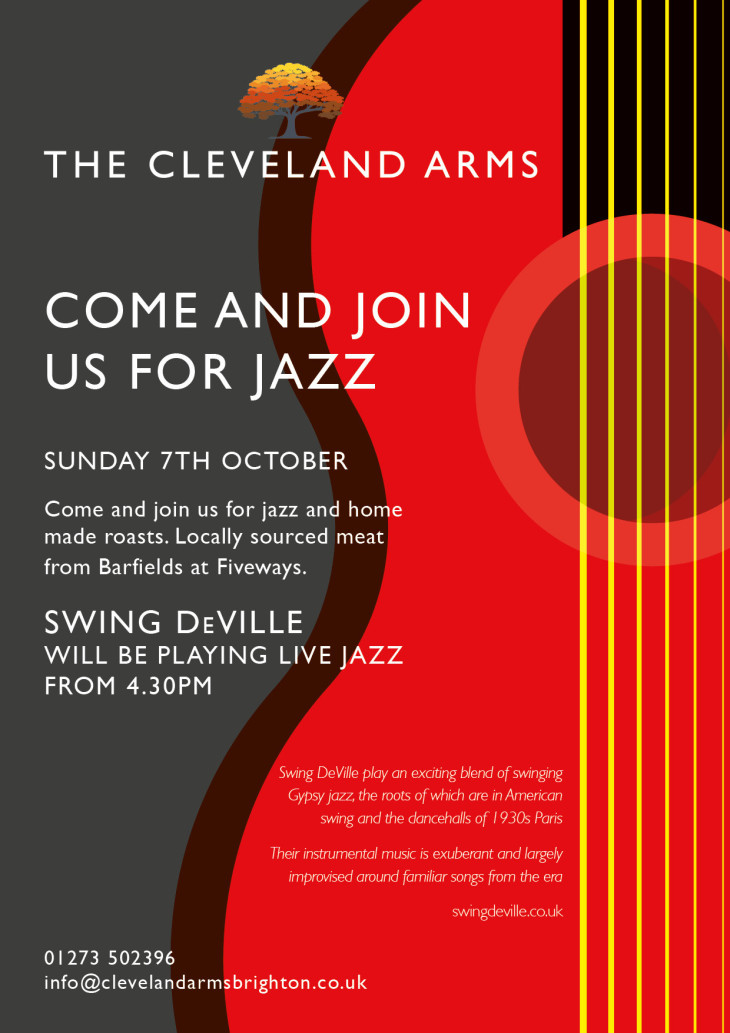 Live Jazz at The Cleveland Arms