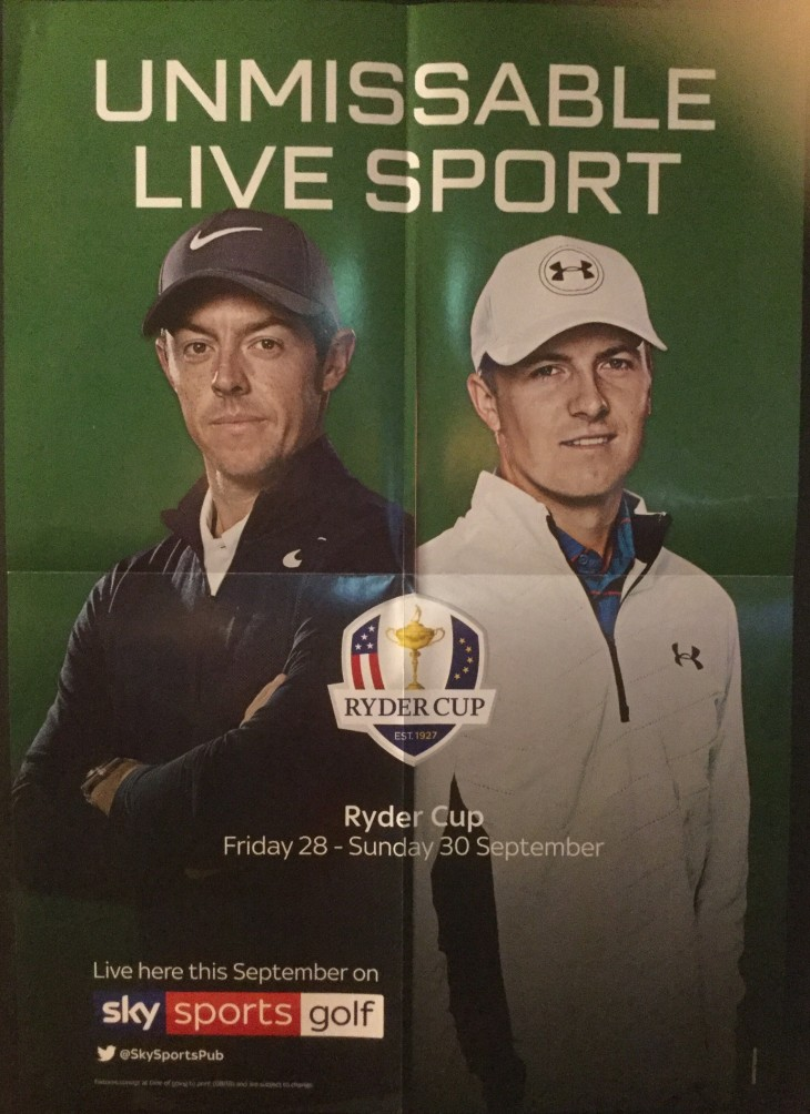 Ryder Cup Live in HD