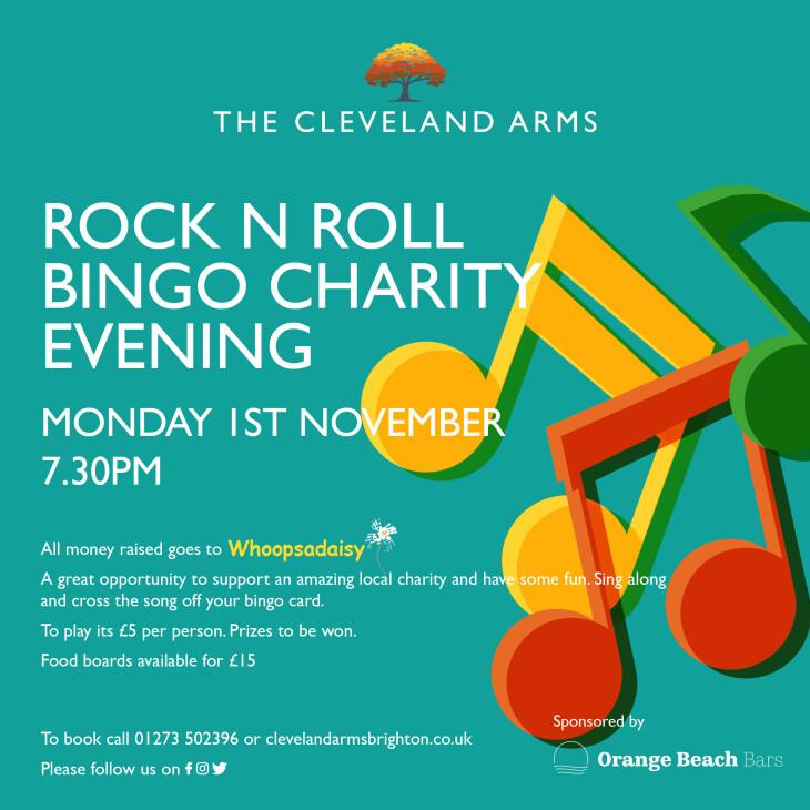 Rock 'n' Roll Bingo
