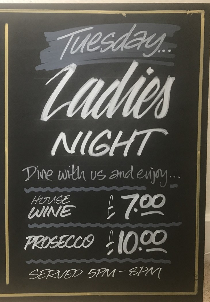 LADIES NIGHT - WINE, DINE & CHAT!!