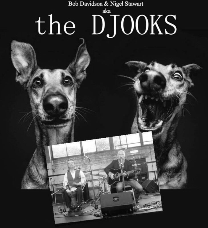 Live music from The Djooks - 9 -11pm