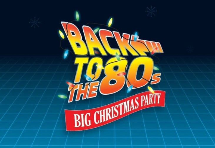 BACK 2 THE 80S XMAS SHINDIG