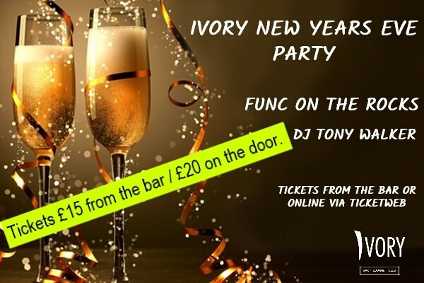 IVORY NEW YEARS EVE EXTRAVAGANZA!!