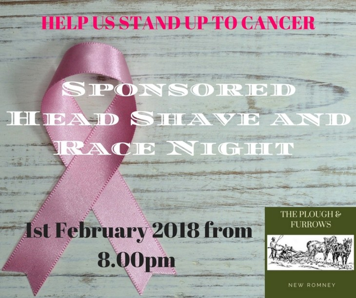 Race Night and Sponsored Head Shave