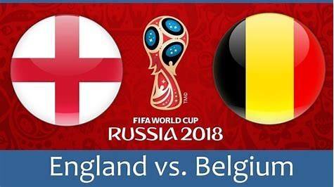 England vs Belgium Thursday 28th June.
