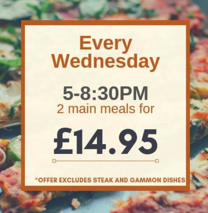 Wednesday offers
