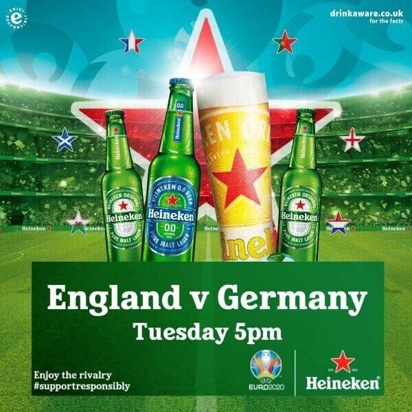 England v Germany, UEFA EURO 2020™