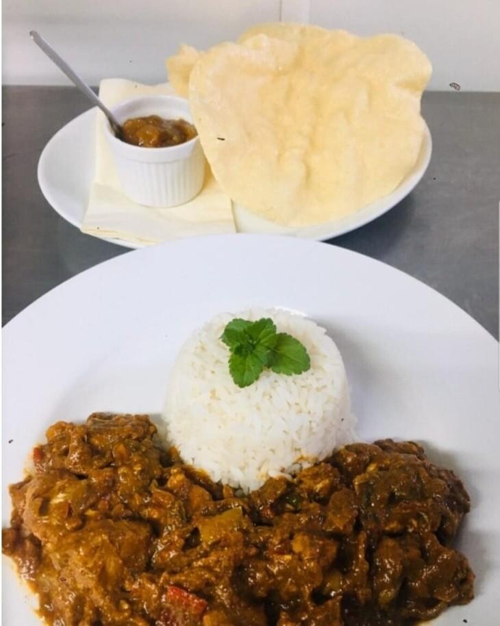 Saturday 1st Aug Curry Night